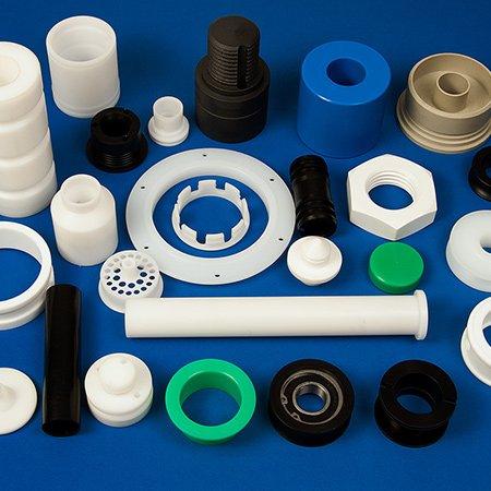 Kunststoffdrehteile der K&B Kunststoffdreherei
